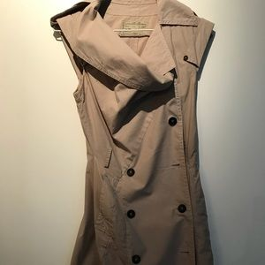 All Saints trench dress style size 8 UK
